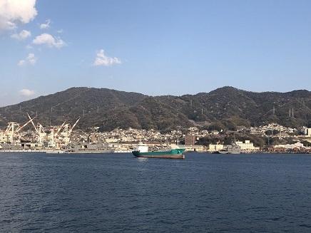 4022019 Ferry1520 呉港へ S11