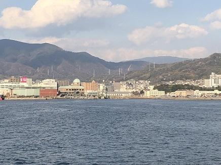 4022019 Ferry1520 呉港へ S12