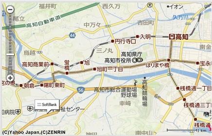 3302019 SB土佐道路店 map S