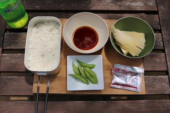 たけのこご飯 3