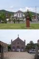 宮津カトリック教会とガラシャ像