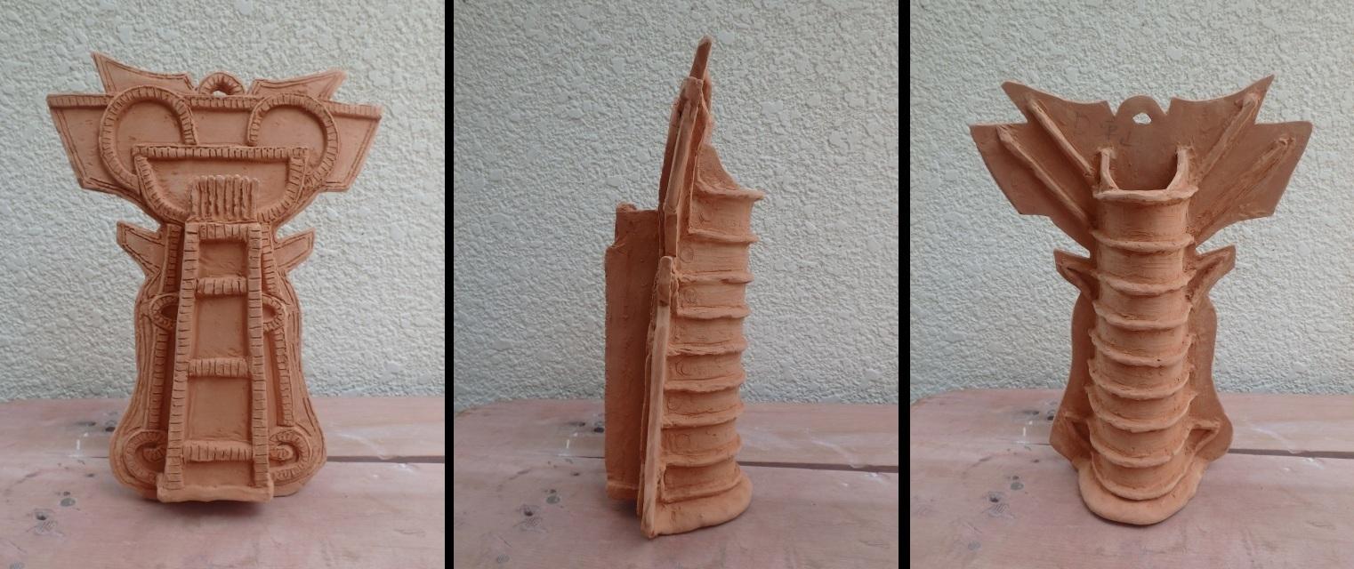 靫方埴輪花器2