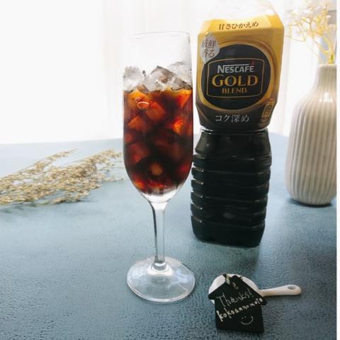 ネスカフェ ゴールドブレンド コク深め ボトルコーヒー