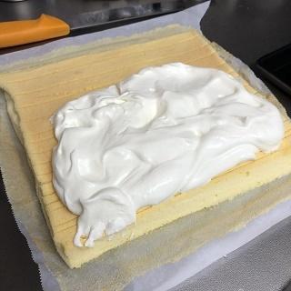 ロールケーキ作り