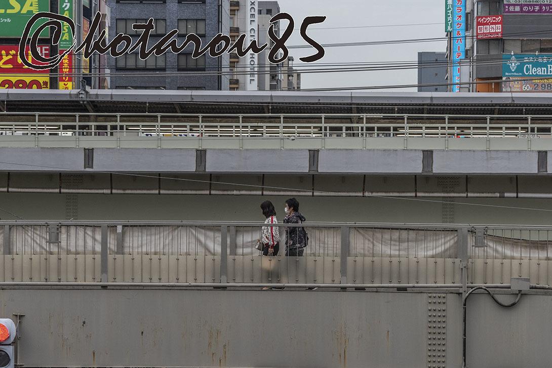 亀戸駅前にて 20190426