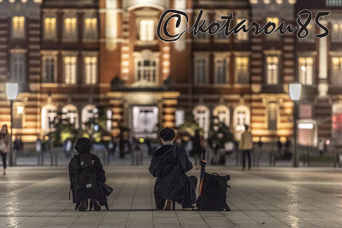 連夜の東京駅 20190430
