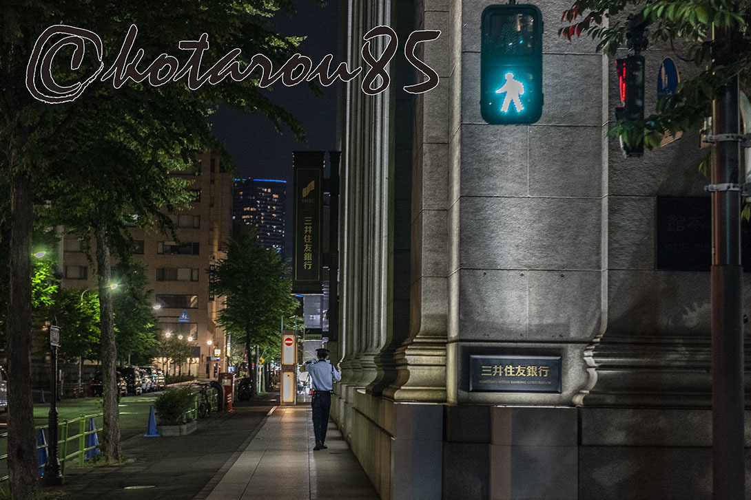 深夜の日銀本店5 20190512