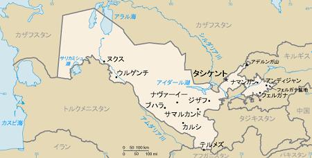 2019年6月会報サマルカンド地図