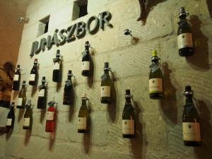 壁面ワイン