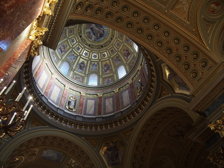 聖イシュトバーン大聖堂ドーム内
