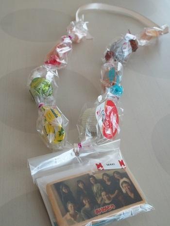 キャンディレイ お菓子のネックレス