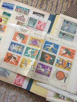 切手収集が趣味