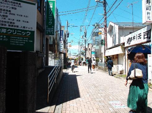 藤沢の旧東海道