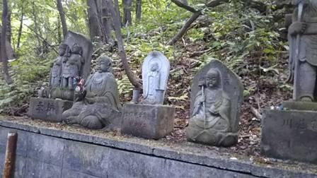 円山八十八箇所 ・入口、地蔵菩薩と弘法様