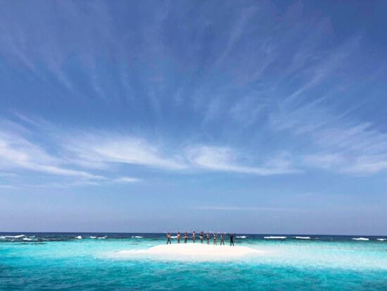 宮古島 海遊び バラス 八重干瀬