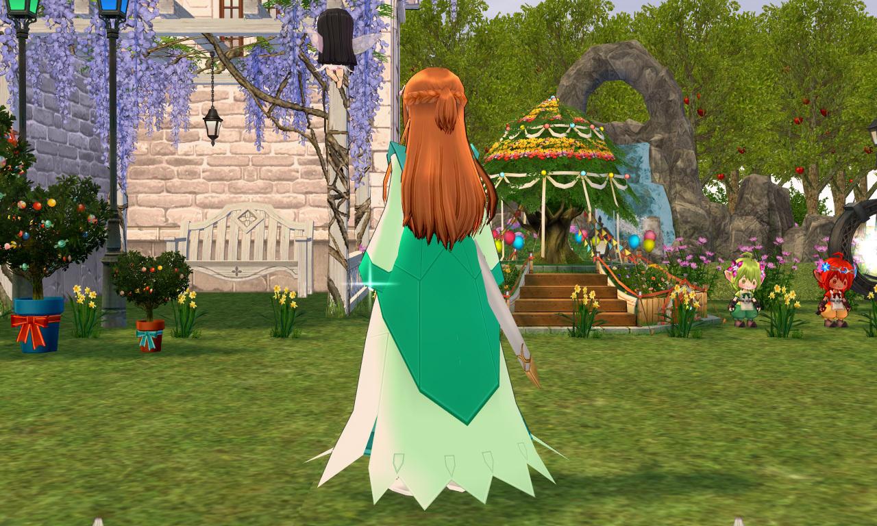 フラワーイブニングドレス2