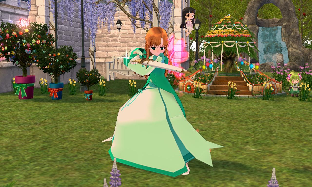 フラワーイブニングドレス3