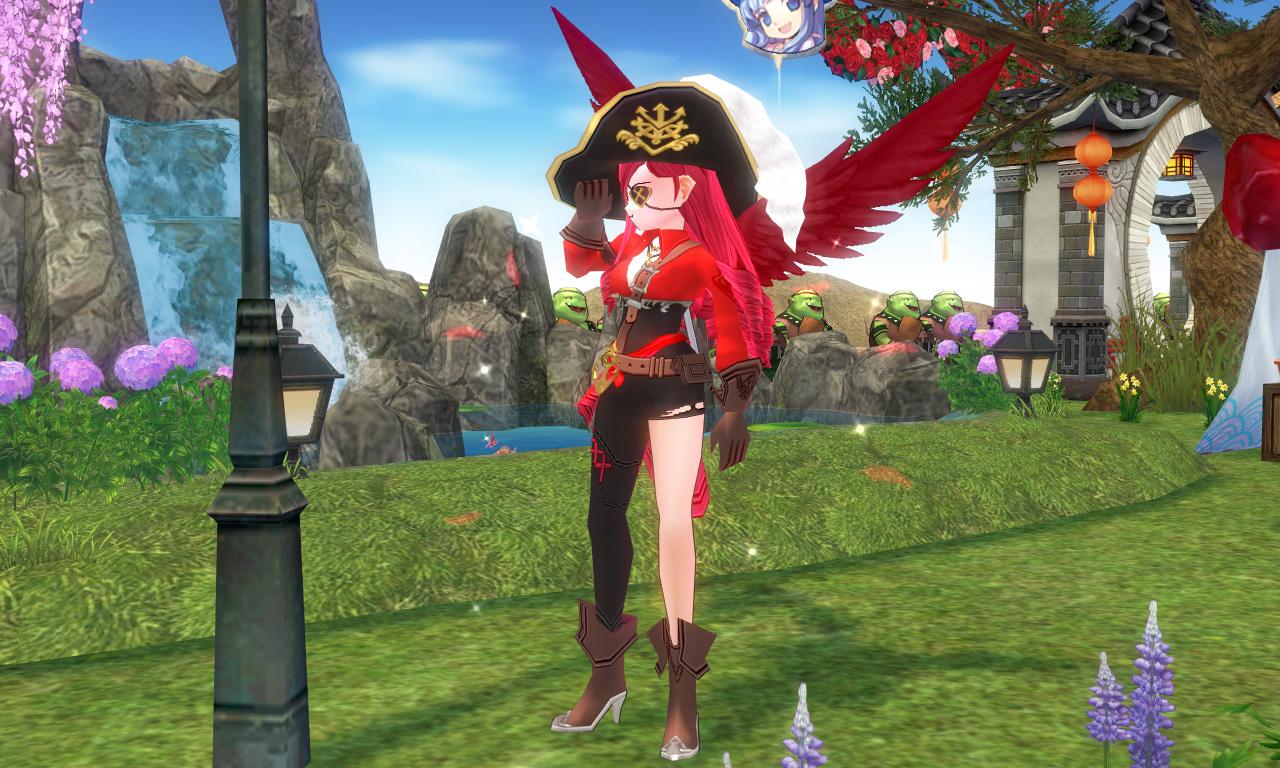 浪漫海賊の衣装3