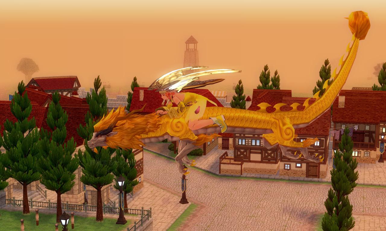 ゴールドオリエンタルドラゴン3