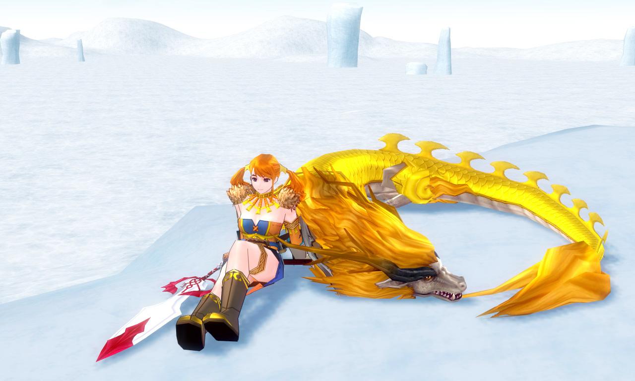 ゴールドオリエンタルドラゴン1