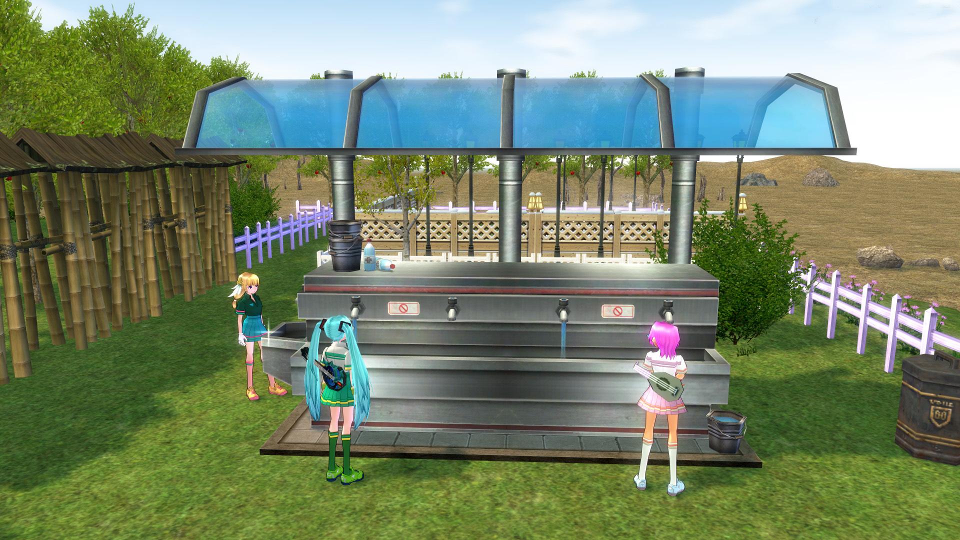 テニスコートとテニスウェア09