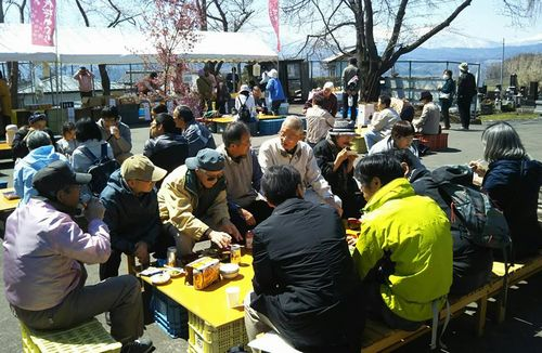 2019.4.13桜まつり懇親会