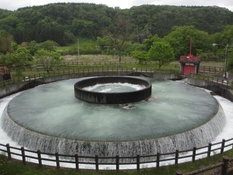 今朝の徳水園