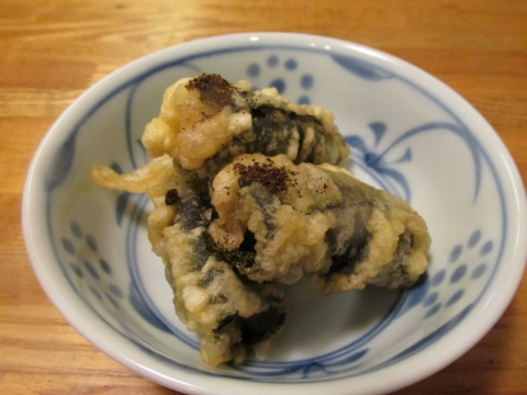 フグの海苔巻き天ぷら3