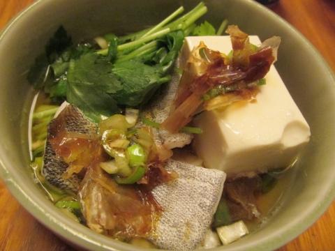 タラ湯豆腐小鉢1