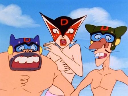ヤッターマン1977 ドロンジョの胸裸ヌードパンツ177