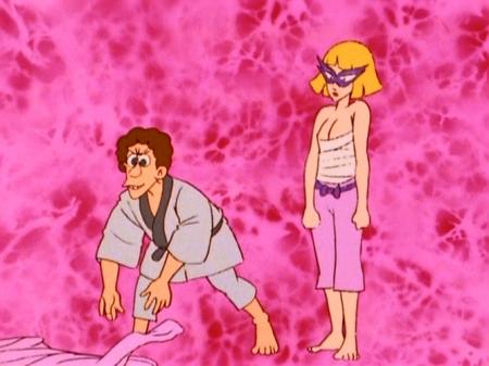 ヤッターマン1977 ドロンジョの胸裸ヌード179