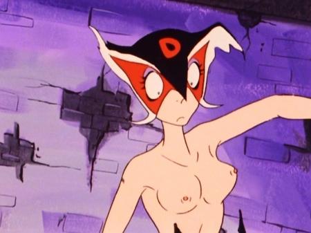 ヤッターマン1977 ドロンジョの胸裸ヌード乳首181