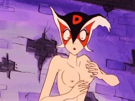 ヤッターマン1977 ドロンジョの胸裸ヌード乳首182