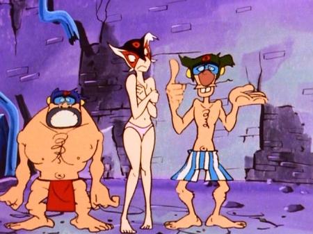 ヤッターマン1977 ドロンジョの胸裸ヌードパンツ184