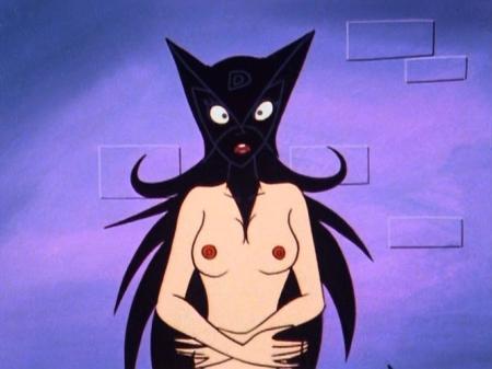 ヤッターマン1977 ドロンジョの胸裸ヌード乳首188