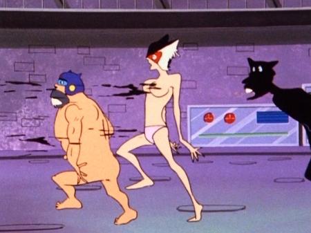 ヤッターマン1977 ドロンジョの胸裸ヌードパンツ乳首192