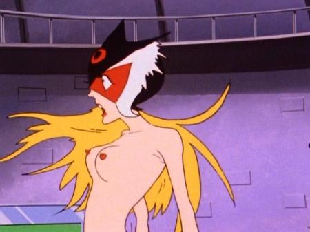 ヤッターマン1977 ドロンジョの胸裸ヌード乳首193
