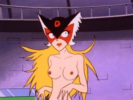 ヤッターマン1977 ドロンジョの胸裸ヌード乳首194