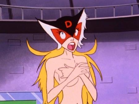 ヤッターマン1977 ドロンジョの胸裸ヌード195