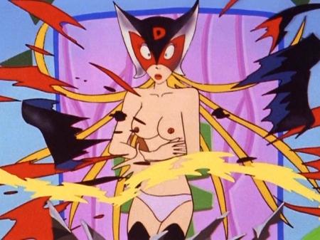 ヤッターマン1977 ドロンジョの胸裸ヌードパンツ乳首199