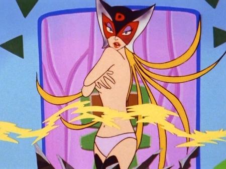 ヤッターマン1977 ドロンジョの胸裸ヌードパンツ201