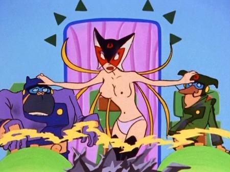 ヤッターマン1977 ドロンジョの胸裸ヌードパンツ乳首204