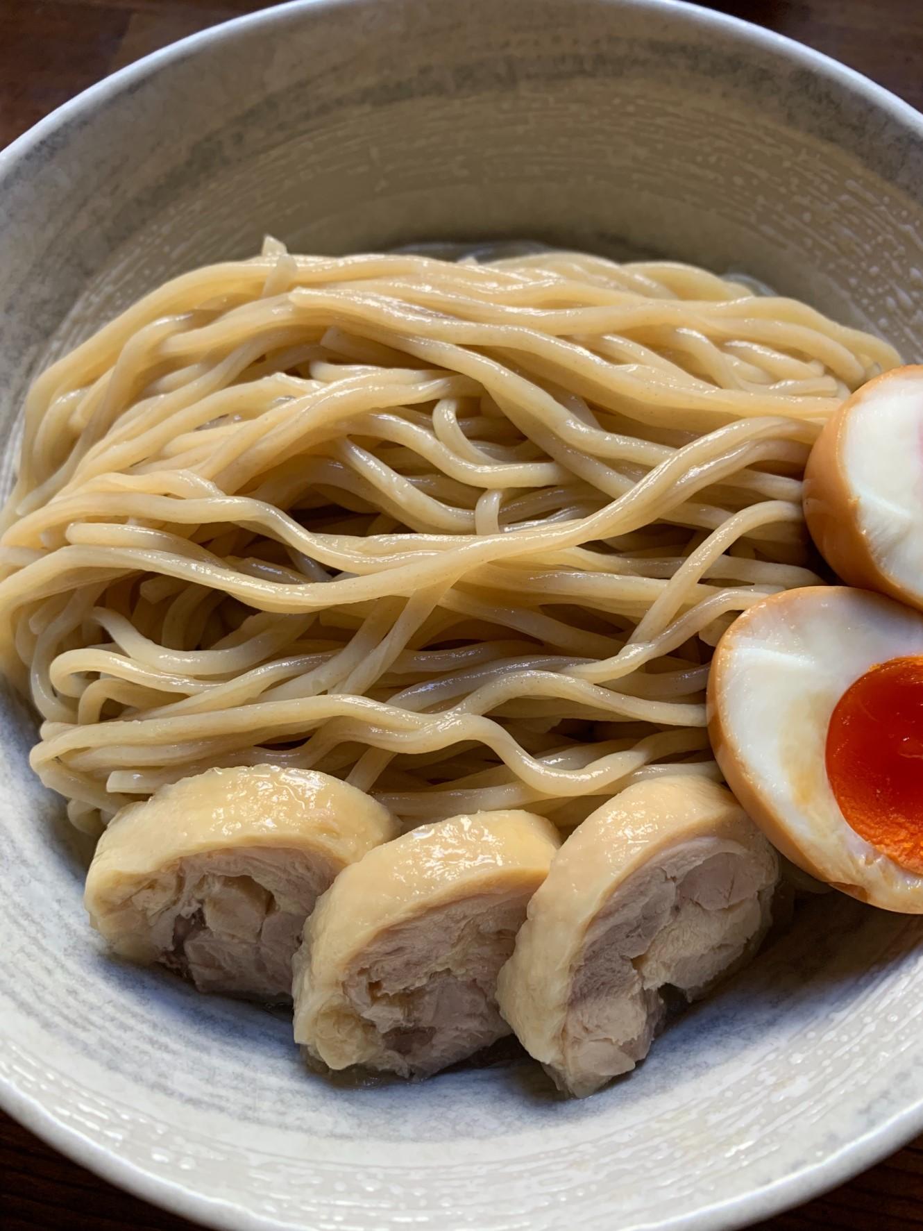 塩トマトつけ麺1