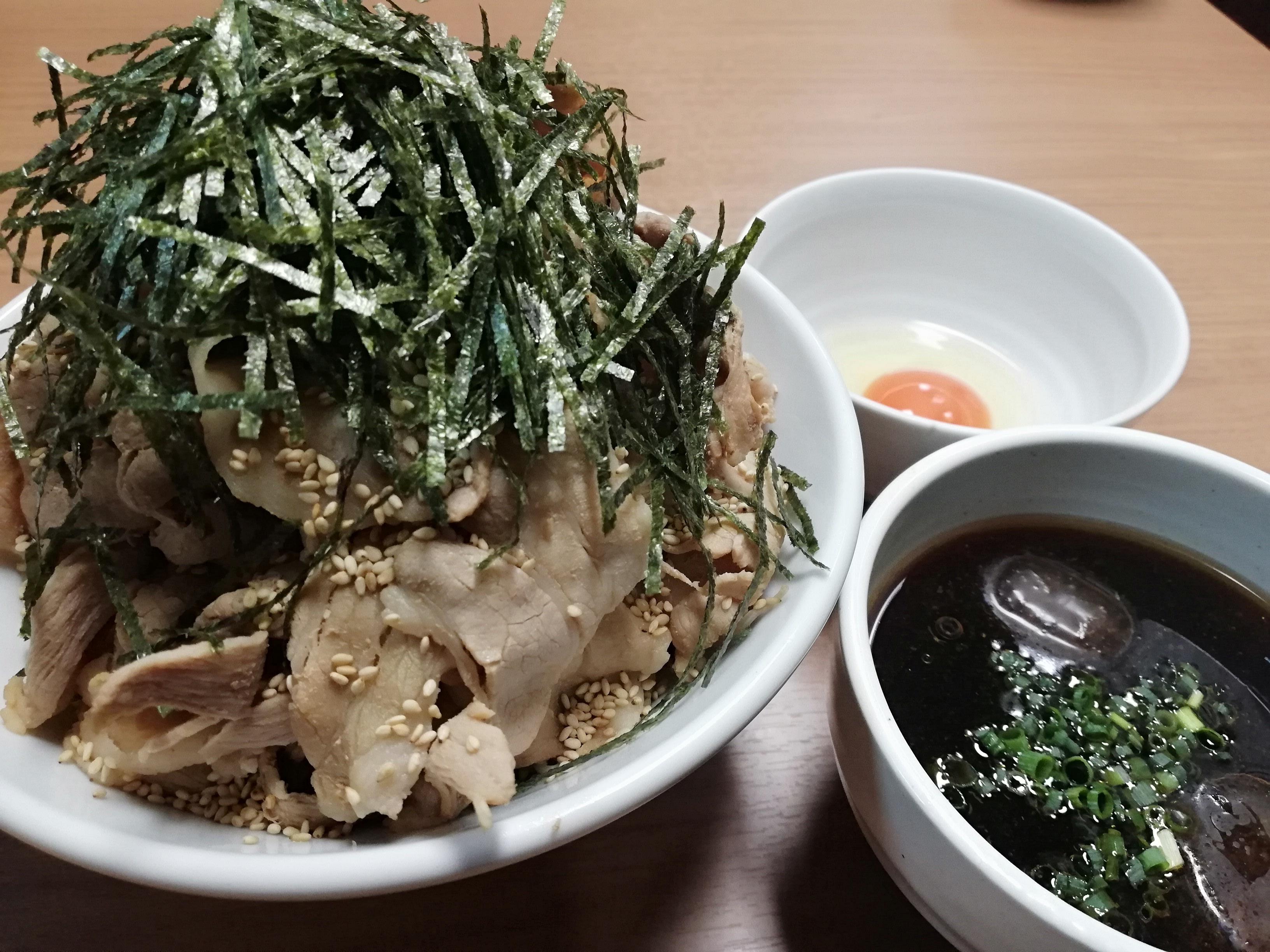 肉そば&スープ