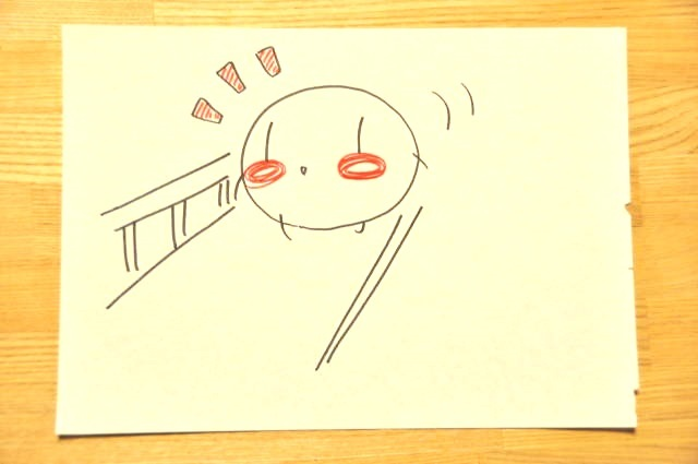 シラサギ 鎌倉の朝 通勤2