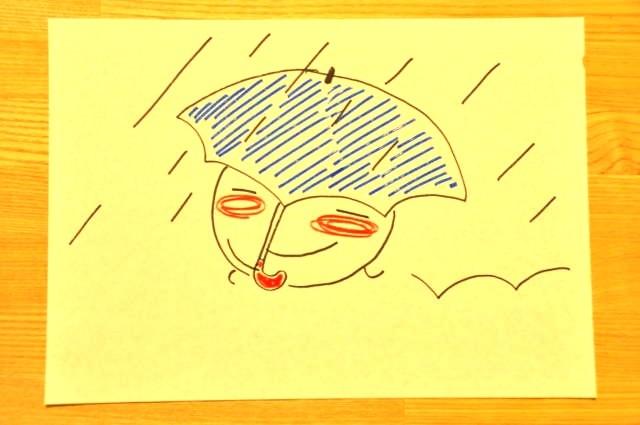 春 雨 桜 ルンルンルン子1