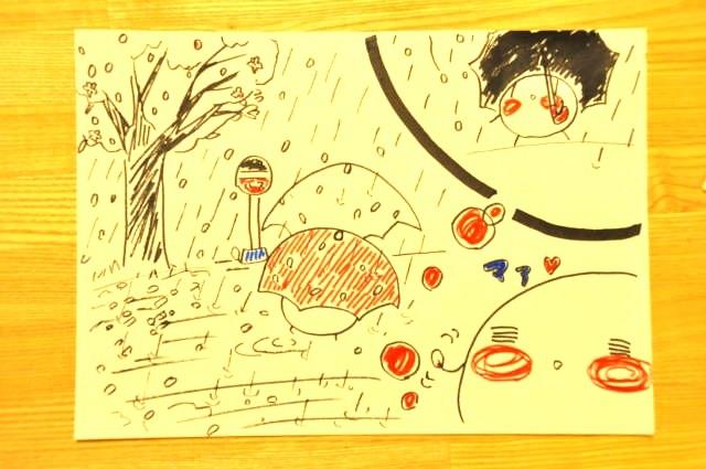 春 雨 桜 ルンルンルン子3