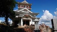 前原城の全景