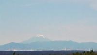 雪の少ない富士山