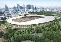 隈研吾設計の新国立競技場